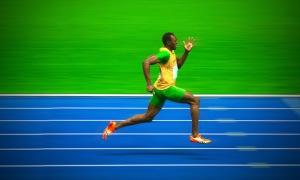 Bolt 100m 2012 Olympics