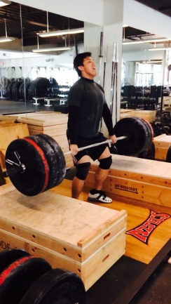 Cleaning 125kg from blocks
